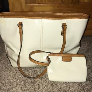 White Nine West bag
